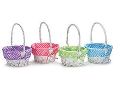 White-Painted-Willow-Easter-Basket-w-Dot-Liner-FREE-Personalization