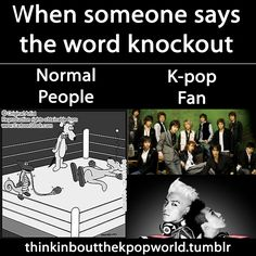 "Super Junior: ""I wanna knock out!""  GD and TOP: ""This is double double double double combo"""