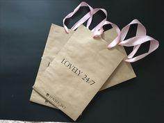 Крафт пакеты с логотипом для магазина дизайнерской одежды