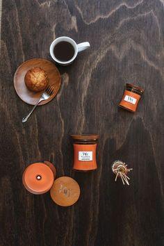 Collection WoodWick de bougies parfumées, cire, diffuseur...