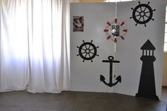Sailor theme matric farewell at Klip River Country Estate photo booth