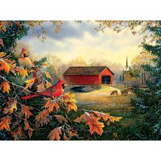 Red River Crossing Jigsaw puzzle