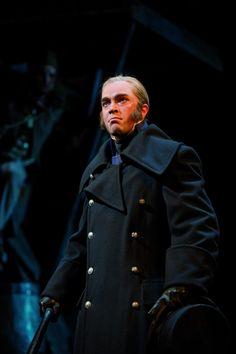 Hadley Fraser (Javert) - Photo by Michael Le Poer Trench #theatre #lesmis #musicals www.lesmis.com