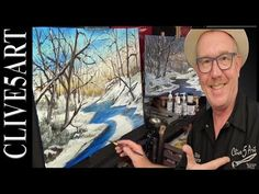 In this tonal art lesson in Acrylic painting for beginners I continue to look at tonal values in a landscape some easy colour mixing in a step by step easy t...