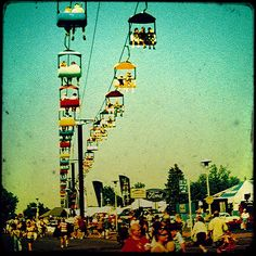Ohio State Fair  (I LOVED going to the Ohio State Fair... so fun!!!)