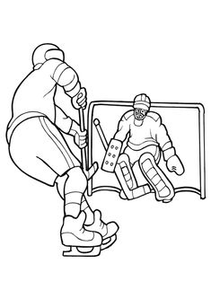 ice hockey coloring pages.html