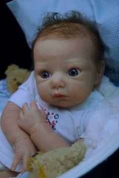 Mummelbaerchens Lola, so cute Reborn Baby Girl, New sculpt by Adrie Stoete, Ltd, | eBay