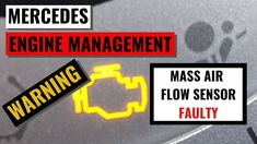 Mercedes Mass Air Flow Sensor problem on my Mercedes Engine Management light illuminated leading to a Warning diagnostic error. Flow, Engineering, Management, Mechanical Engineering, Architectural Engineering