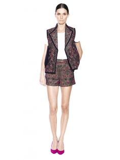 Otte New York Chloe Quilt Vest & Dora Short