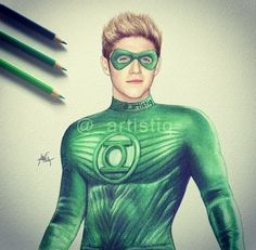 Green Lantern Niall