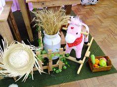 Decoração de festa infantil Fazendinha Porto Alegre provençal