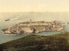 Isle of Man, Peel Castle.jpg 800×592 pixels