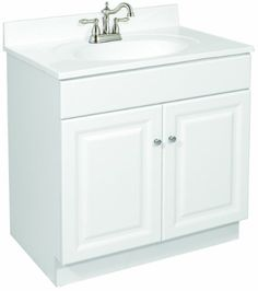 Bathroom Vanity 24 X 17 style selections euro style 24-in x 17-in white belly bowl single