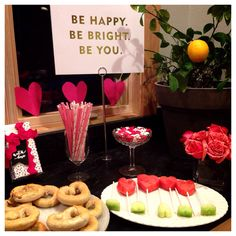 Teen Valentine's Day party ideas.