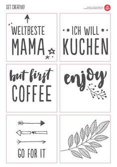 Tassen selbst gestalten Tassen selbst bemalen Tassen beschriften Sprüche Vorlage gratis download hand painted cups easy tutorial