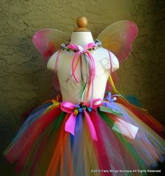 Cotton Candy Fairy Set by BlueFairyDesign on Etsy.