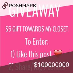 The winner will be selected randomly from the people in the comments section that tagged others! Also this ends at 10 likes on this listing! Forever 21 Other Lilly Pulitzer, Giveaway, Fashion Tips, Fashion Design, My Favorite Things, Things To Sell, Forever 21, Closet, Tags