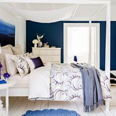 Christy Hessian 'Fontaine' bed linen- at Debenhams.com I Love the wall colour