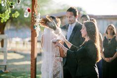 Backyard Arizona Wedding native american wedding ceremony. Rev. Shanandoah Sterling