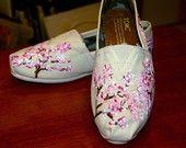 Custom TOMS - Cherry Blossoms for
