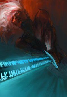 paradanmellow(deviantart)- Elric Stormbringer.