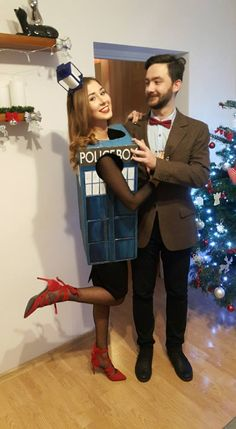 New Year's Eve Tardis and Doctor Who Costumes