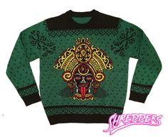 Kali Yuga Christmas Sweater [CHAD KOEPLINGER X SHREDDERS APPAREL]