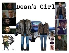 """Dean's Girl"" by livelifeloud24 on Polyvore featuring STONE ISLAND, Dolce&Gabbana, Ann Demeulemeester, Current/Elliott, Frame, Vince Camuto, Trask and supernatural"