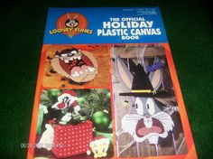 Free Christmas Plastic Canvas Patterns | Plastic Canvas Patterns Looney Tunes Holiday Plastic Canvas Pattern ...