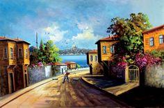 YAĞLI BOYA İstanbul Tabloları İST 051
