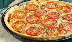 Recette : Tarte au thon, tomates et moutarde.