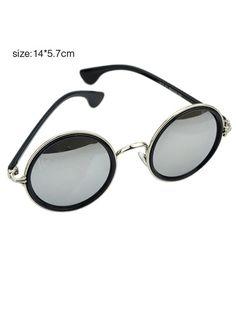 153116704ec Shop Round Acetate Resin Sunglasses online. SheIn offers Round Acetate  Resin Sunglasses   more to