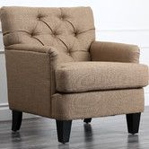 Found it at Wayfair - Abbyson Living Freemont Linen Chair