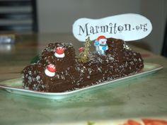 Bûche de Noël façon grand-mère : Recette de Bûche de Noël façon grand-mère - Marmiton