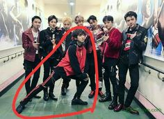 Everyone in #EXO is posing normally, and then there's #Chanyeol. #EXOLove Be sure to check out our bio link for more EXO news/photos/etc