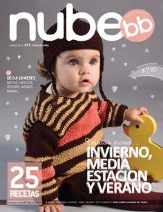 Nube Nº 013 - Melina Tejidos - Álbuns da web do Picasa Knitting For Kids, Easy Knitting, Crochet For Kids, Crochet Book Cover, Crochet Books, Crochet Bebe, Knit Crochet, Crochet Hats, Vogue Knitting