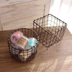 Decorative Wire Baskets Storage