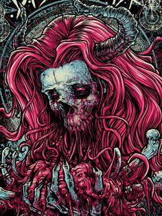 Kylo Ren is my Spirit Animal 💀 Art. Horror Posters, Horror Comics, Horror Art, Dark Artwork, Metal Artwork, Vampires, Heavy Metal Art, Acid Art, Satanic Art
