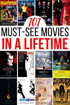 101 Iconic Movies to Watch Before You Die (FREE Checklist)