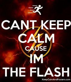 Can't keep calm because I'm the flash! The Flash Season 1, Dc Comics, Flash Tv Series, Flash Funny, Flash Barry Allen, Flash Wallpaper, Dc World, The Flash Grant Gustin, Superhero Memes