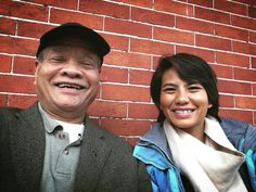 #selfie with #dad. He's cooler than me he's got a selfie stick. My dad is so funny. He's always making me laugh and I know he loves me so much. And I love him too. So grateful for him. Tell your dad you love him today whoever that might be.  ------------------------------- #love #life #dad #daughter #daddysgirl #neworleans #frenchquarter #happy #smile #yes #yoga #yogateacher by summerdien