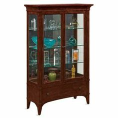 Abbott Place Display Cabinet // Trophy cabinet // office storage for awards and other collections