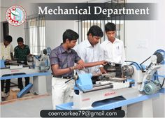 Mechanical Department of COER that has been transforming generation of budding aspirants into accomplished engineers creating a generation of transformational engineers, technocrats, leaders for business and society in a unique academic setting, which fosters professional excellence and nurtures core values for fulfilling life. We have pooled together some of the most well known academicians, executives, innovators, philanthropists, researchers, and scientists to guide us in this noble…