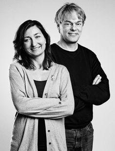 May-Britt Moser (b. 4 Jan 1963) and Edvard Moser (b. 27 Apr 1962)