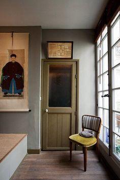 green door and walls. / sfgirlbybay