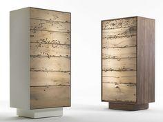 Wooden chest of drawers RIALTO 2013 Briccole Collection by Riva 1920 | design Giuliano Cappelletti