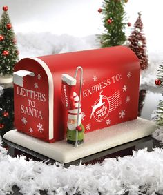 'Letters To Santa' Mailbox