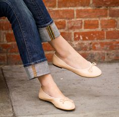 can't go wrong with a classic ballet flat