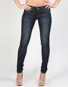 PZI ELLEN DISTRESSED SKINNY JEAN. PZI is dedicated to making