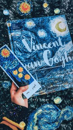 Vincent van Gogh book aesthetic